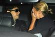 Jamie Hince and Kate Moss arriving at LAX...