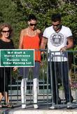 Amy Charlier and Peter Andre
