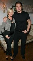 Keith Duffy with his wife Lisa Duffy All...