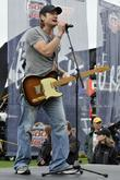 Kieth Urban Rehearses Prior To His Performance At The Daytona 500 At Daytona International Speedway