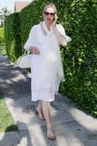 A Very Pregnant Kelly Rutherford Takes A Stroll In Beverly Hills