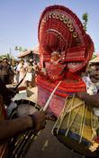 Theyyam The Human Gods Of Malabar Dancing With Tunes Of Drums