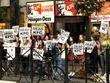 Peta Zombies Protest Against Food Chain Kfc In Herald Square On Broadway