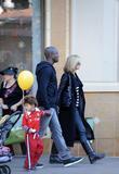 Heidi Klum and husband Seal with their son Johan