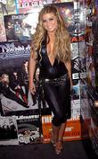 Carmen Electra backstage at The Roxy Theatre in...
