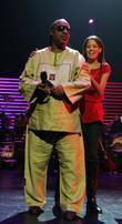 Stevie Wonder and Keisha Whitaker