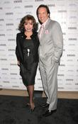 Joan Collins and husband Percy Gibson A celebration...