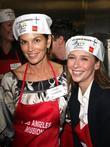 Cindy Crawford and Anne Douglas