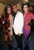 Christian Audigier and Models Mercedes-Benz LA Fashion Week...