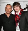 Christian Audigier and Juston Gaston Mercedes-Benz LA Fashion...