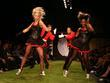 Performers Mercedes-Benz LA Fashion Week Spring 2009 at...