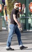 Adam Levine Celebrities arrive to watch the Los...