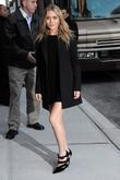 Ashley Olsen outside the Ed Sullivan Theatre for...