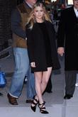 Ashley Olsen and David Letterman