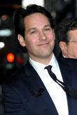 Paul Rudd and David Letterman