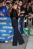 Lauren Conrad and David Letterman
