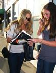 Lauren Conrad pops to 'Warren Tricomi's' hair salon...
