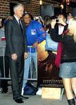 Tim Robbins and David Letterman