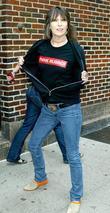Chrissie Hynde and David Letterman
