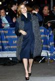Amy Adams, David Letterman, Ed Sullivan Theatre
