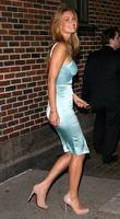 Bar Refaeli and David Letterman