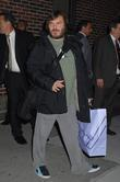 Jack Black, David Letterman, Ed Sullivan Theatre