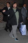 Jack Black and David Letterman