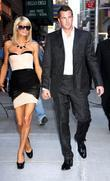 Paris Hilton and Doug Reinhardt  outside the...