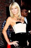 Paris Hilton  outside the Ed Sullivan Theater...