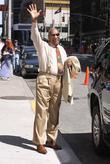 Bill Cosby outside the Ed Sullivan Theater for...
