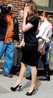 Jennifer Garner and David Letterman