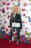 Christina Aguilera and Heidi Klum