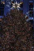 72-foot-tall Norway spruce Christmass tree with the Swarovski star