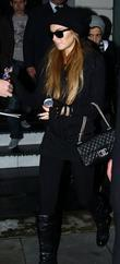 Lindsey Lohan Leaving Her Hotel Carrying A Can Of Coke