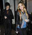 Samatha Ronson and Lindsay Lohan