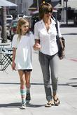 Lisa Rinna and daughter Amelia Gray Hamlin leaving...
