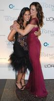 Andie Macdowell and daughter Rainey L'Oreal Legends Gala...
