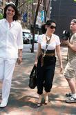 Lucy Liu, Sporting Large Sunglasses and Leaving The Kabbalah Center In Good Spirits