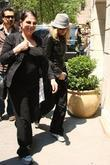 Madonna and Adopted Son David Banda Visit The Kabbalah Center