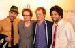 Adrian Grenier and his band the Honey Brothers