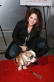 Camille Guaty and her dog Boss