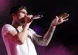 Adam Levine of Maroon 5 performs at Cruzan...