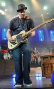 Dan Vickery of the Counting Crowes performs live...