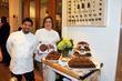 Chef Michael Casillo and Martha Stewart