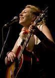 Martha Wainwright  performing at Liverpool Philharmonic Hall...