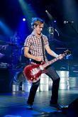 Tom Fletcher McFly performing at the Hammersmith Apollo...