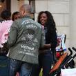 Mel B and Her Husband Stephen Belafonte Go Christmas Shopping With Her Daughter At The Grove