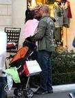 Mel B and Her Husband Stephen Belafonte Share A Kiss While Christmas Shopping With Her Daughter At The Grove