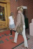 Melanie Griffith and her daughter Stella Banderas arrive...