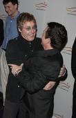 Roger Daltrey and Michael J. Fox